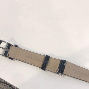 Michele Accessories - Michele alligator watch strap